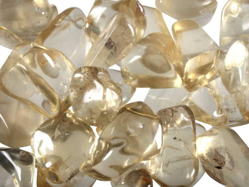 Labradoriet (goud) steen getrommeld 5 - 10 gram