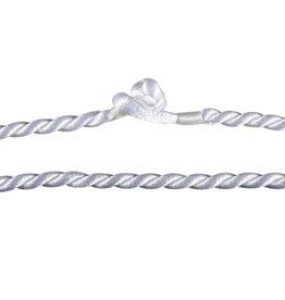 Gedraaid koord 46 cm wit