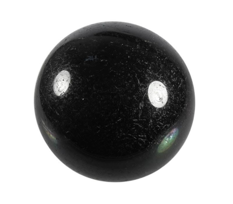 Zwarte toermalijn bol