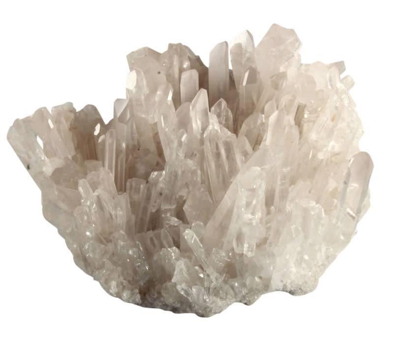 Bergkristal cluster 14,6 x 9,3 x 11,2 cm   1623 gram