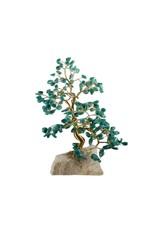 Amazoniet edelsteen boompje groot