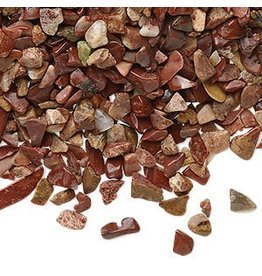 Jaspis (rood) ondoorboorde split   100 gram