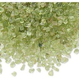 Peridoot ondoorboorde split | 100 gram