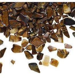 Tijgeroog ondoorboorde split   100 gram