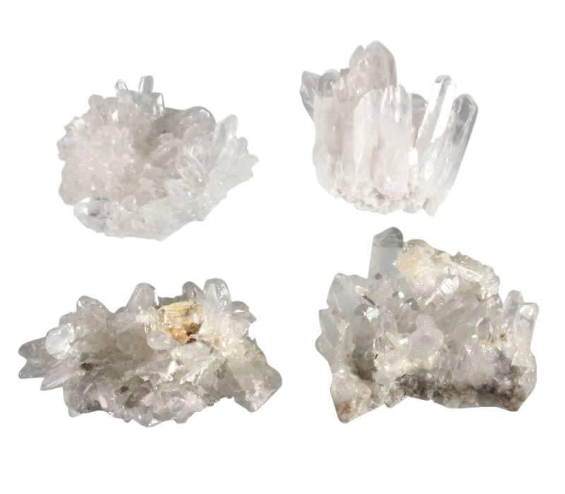 Bergkristal cluster 175 - 250 gram