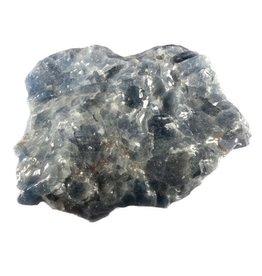 Calciet (blauw) ruw 100 - 175 gram