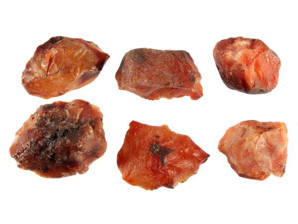 Carneool ruw 25 - 50 gram