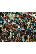 Gemengde edelsteen kralen mix (200 gram)