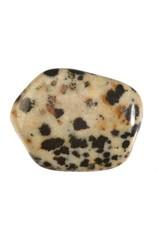Jaspis (dalmatiër) steen getrommeld 10 - 20 gram