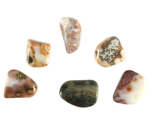 Jaspis (oceaan) steen getrommeld 2 - 5 gram