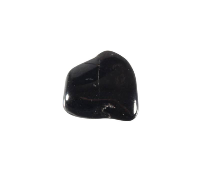 Pyrolusiet steen getrommeld 1 - 2 gram