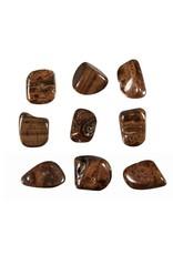 Bariet (bruin) steen getrommeld 5 - 10 gram