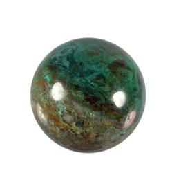 Chrysocolla edelsteen bol 40 mm