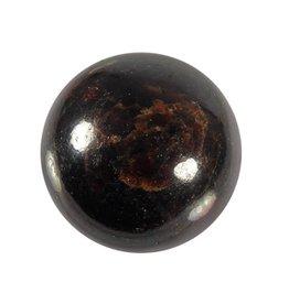 Granaat edelsteen bol 55 mm / 352 gram
