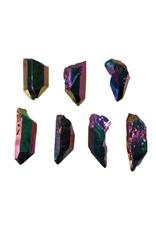 Titanium aura kwarts kristal 2 - 5 gram