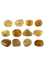 Fluoriet (geel) steen getrommeld 10 - 20 gram