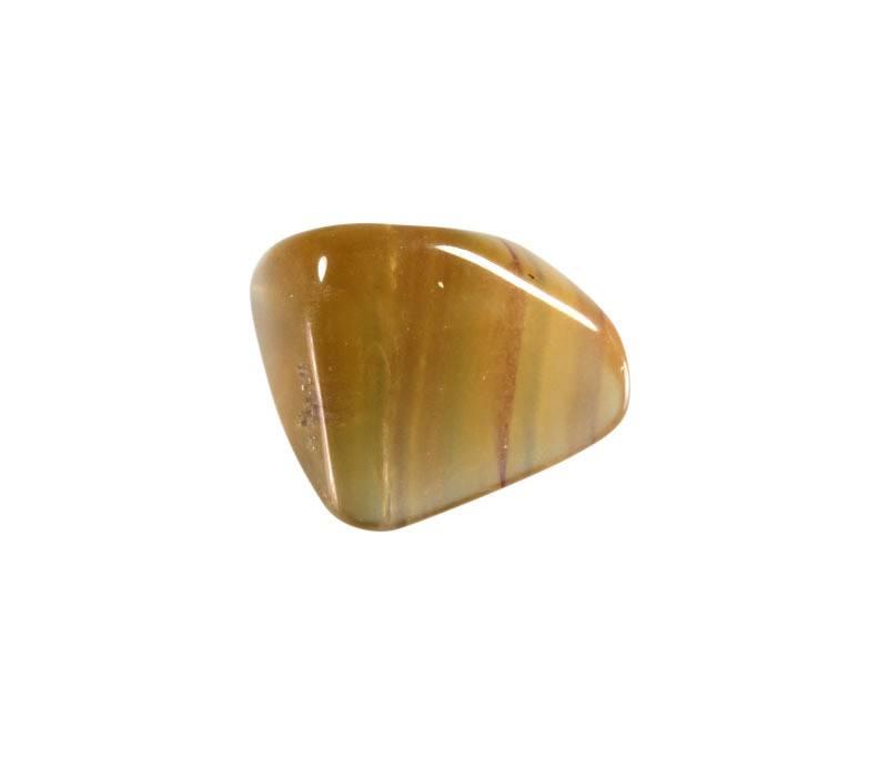 Fluoriet (regenboog) steen getrommeld 5 - 10 gram