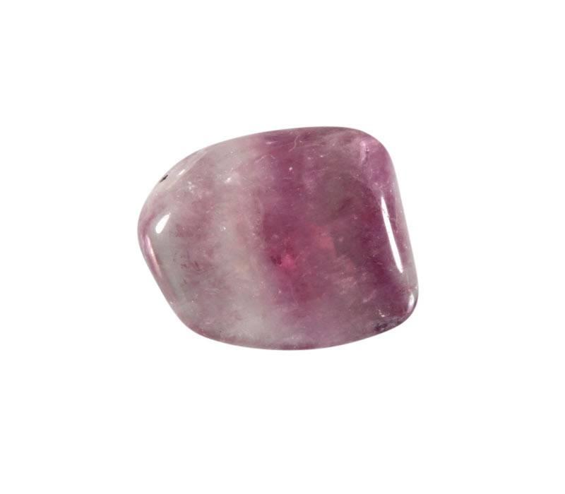 Fluoriet (paars) steen getrommeld 5 - 10 gram