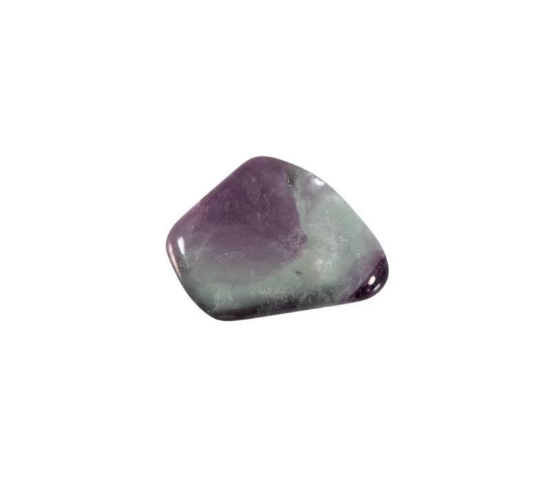 Fluoriet (multi) steen getrommeld 2 - 5 gram