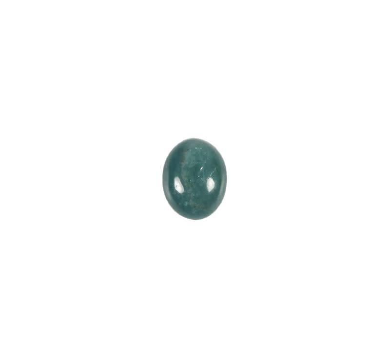 Indigoliet (blauwe toermalijn) cabochon 8 x 6 mm