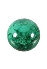 Malachiet edelsteen bol 51 mm / 248 gram