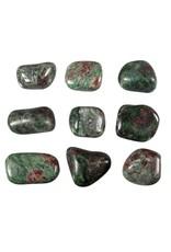 Eklogiet steen getrommeld 10 - 15 gram