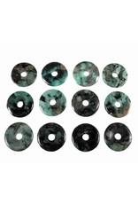 Smaragd hanger donut 3 cm