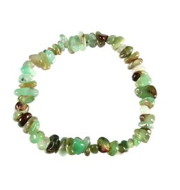 Chrysopraas armband split