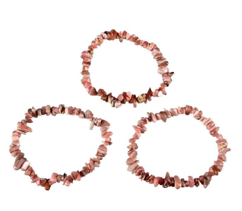 Rhodochrosiet armband split