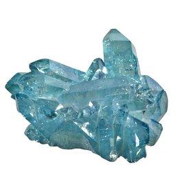 Aqua aura kwarts cluster 5,4 x 4,8 x 2,6 cm / 48,5 gram