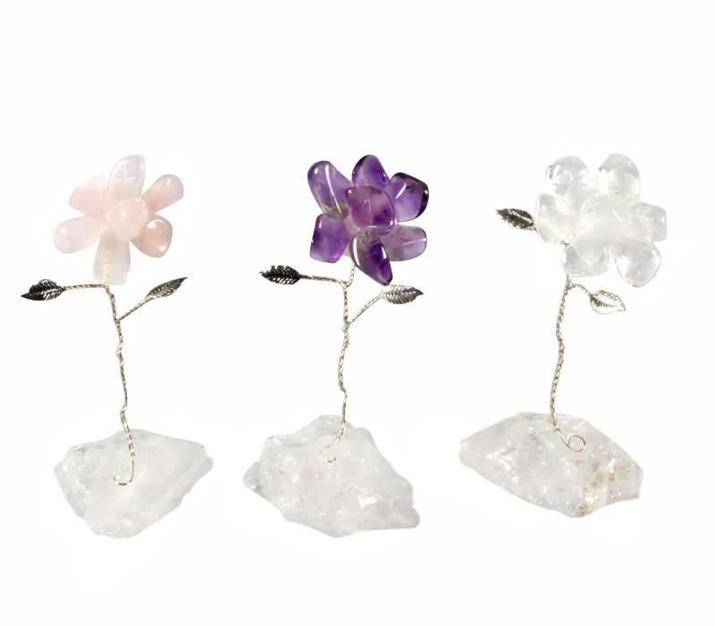 Gouden driehoek bloemen set