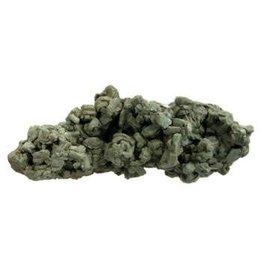 Heulandiet (groen) ruw 19 x 7 x 7 cm / 598 gram