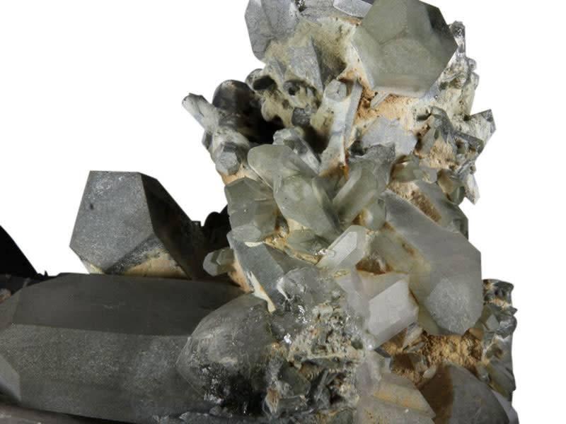 Fantoomkwarts cluster 16,5 x 10 x 10 cm / 1001 gram