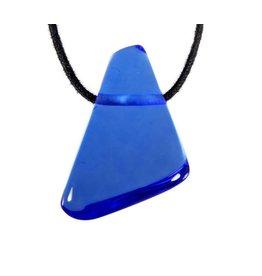 Siberische blauwe kwarts hanger doorboord