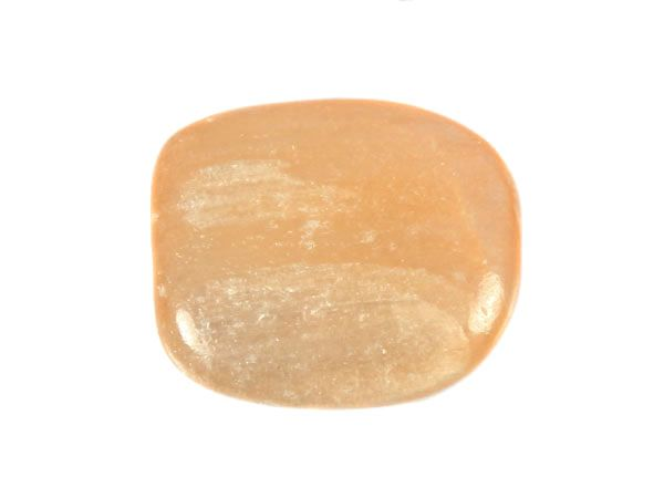 Seleniet (oranje) steen getrommeld 5 - 10 gram