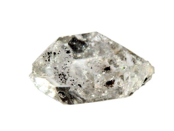 Herkimer diamant 2 x 1,8 x 1 cm / 4 - 6 gram