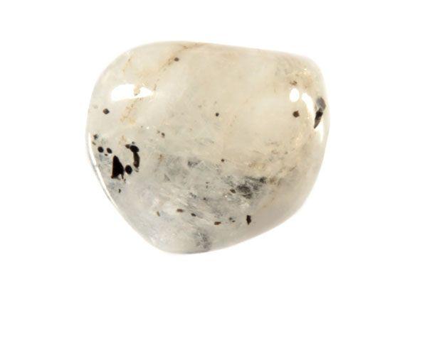 Maansteen (regenboog) steen getrommeld 10 - 15 gram