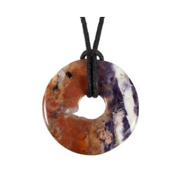 Tiffany stone hanger donut 3 cm