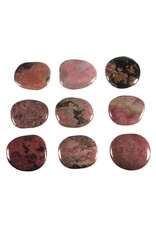 Rhodoniet steen plat gepolijst
