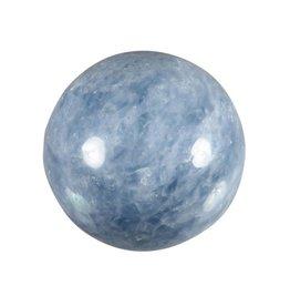 Calciet (blauw) edelsteen bol 50 mm