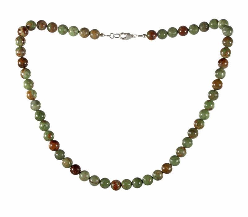 Groene opaal ketting
