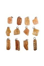 Topaas (goud of edel) hanger kristal 3 - 5 gram