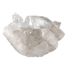 Bergkristal (Arkansas) cluster 9,5 x 6,5 x 5 cm / 300 gram