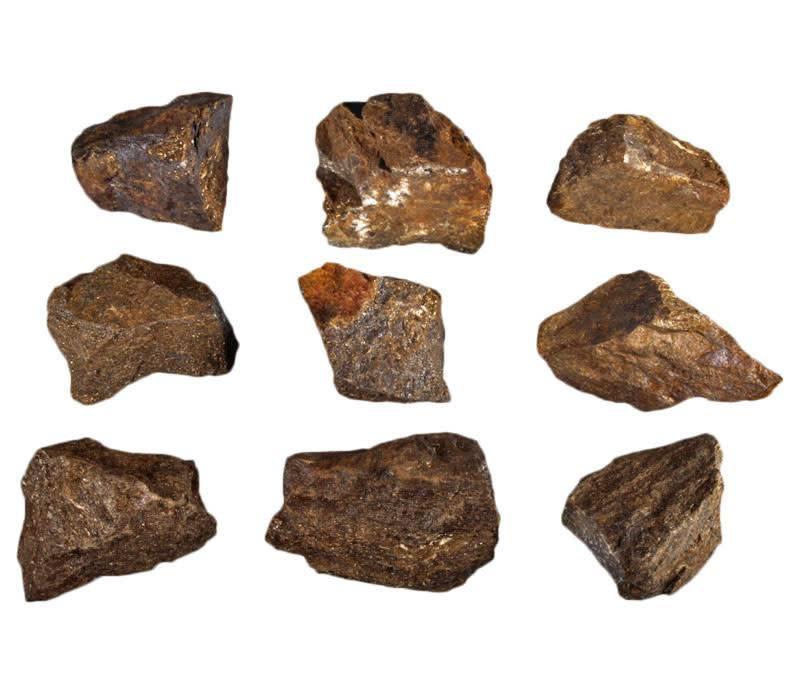 Bronziet ruw 25 - 50 gram