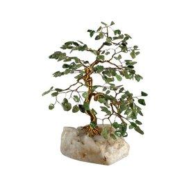 Jade edelsteen boompje groot