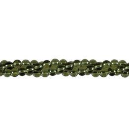Moldaviet kralen rond 6 mm (streng van 40 cm)