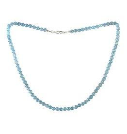 Aragoniet (blauw) ketting 6 mm kralen