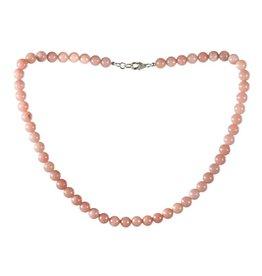 Aragoniet (roze) ketting 8 mm kralen