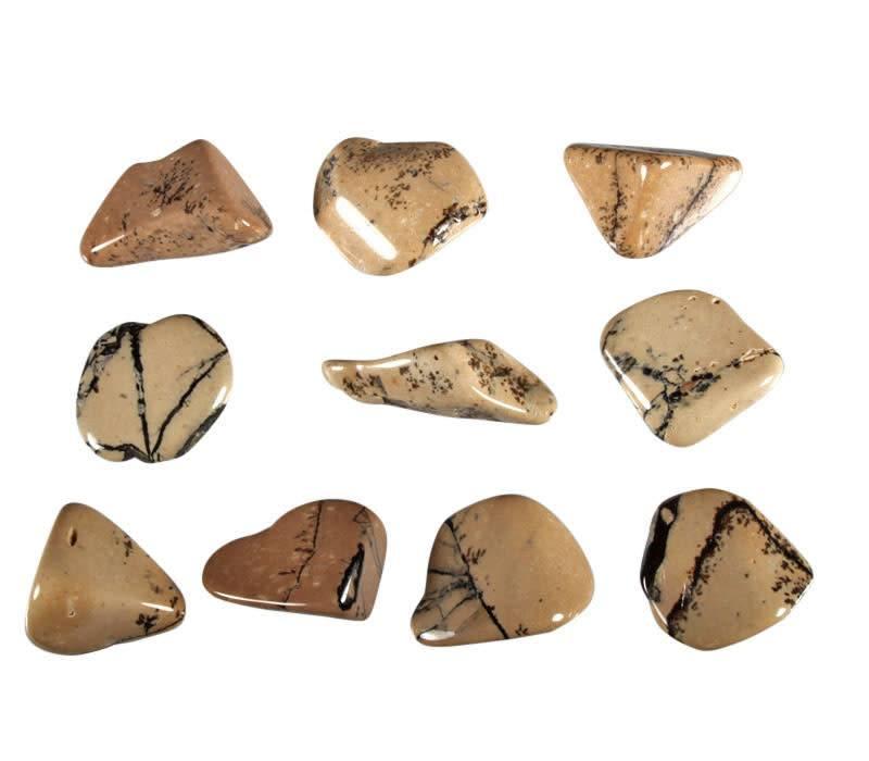 Albiet in schalie steen getrommeld 5 - 10 gram