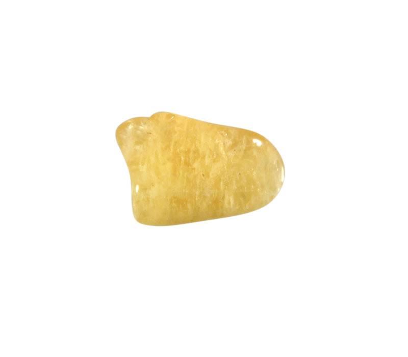 Danburiet (geel) steen getrommeld 2 - 5 gram